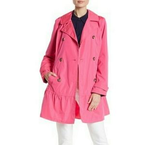 Kate spade new york pink trench coat